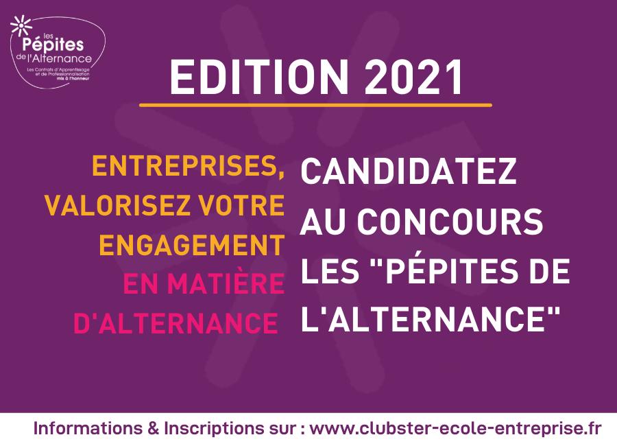 Pépites de l'alternance 2021: LANCEMENT DU CONCOURS